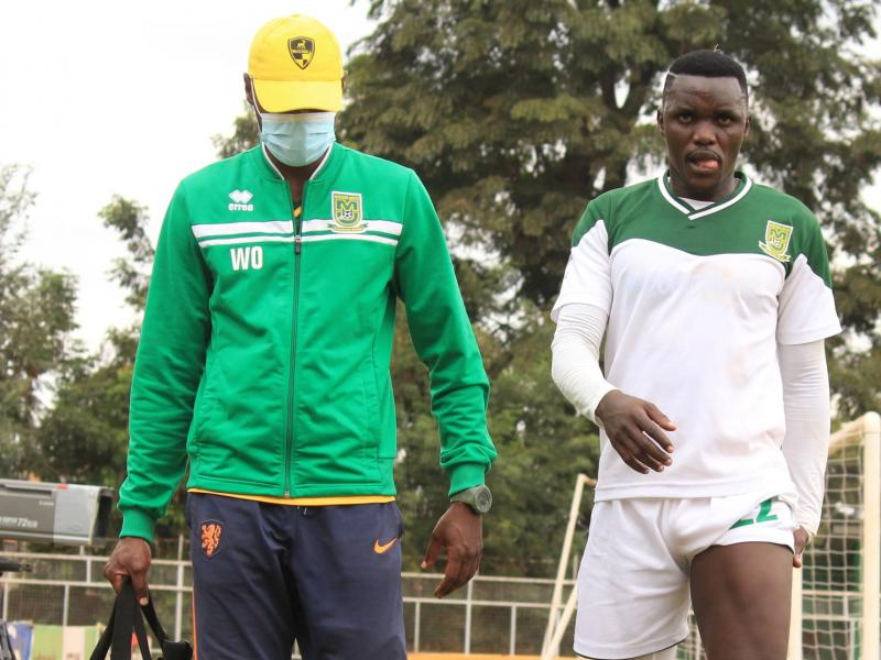 🇰🇪 Mathare United defender 'Cheche' Ochieng out with hamstring tear