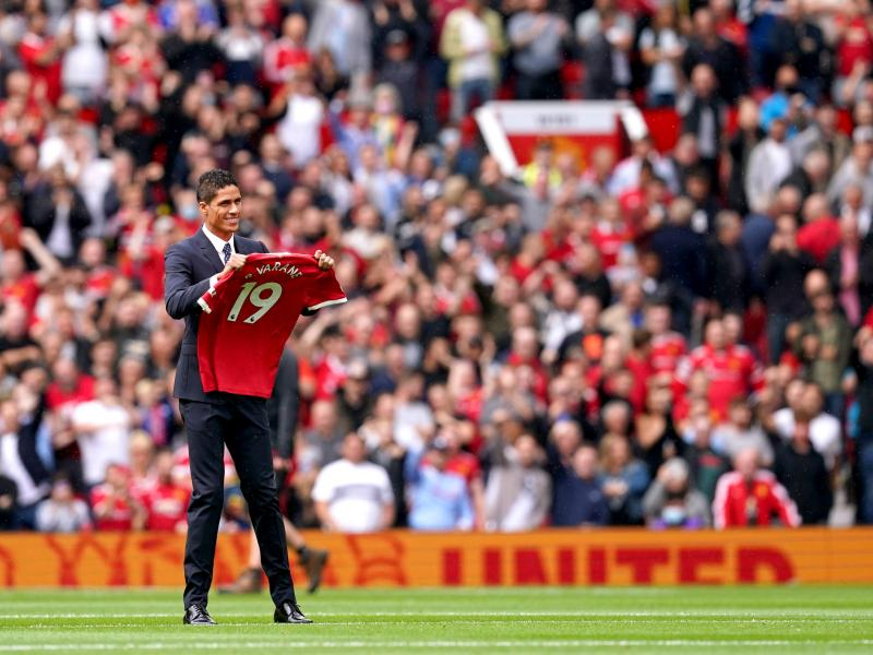 Varane: I couldn't turn down the chance to play in the Premier League