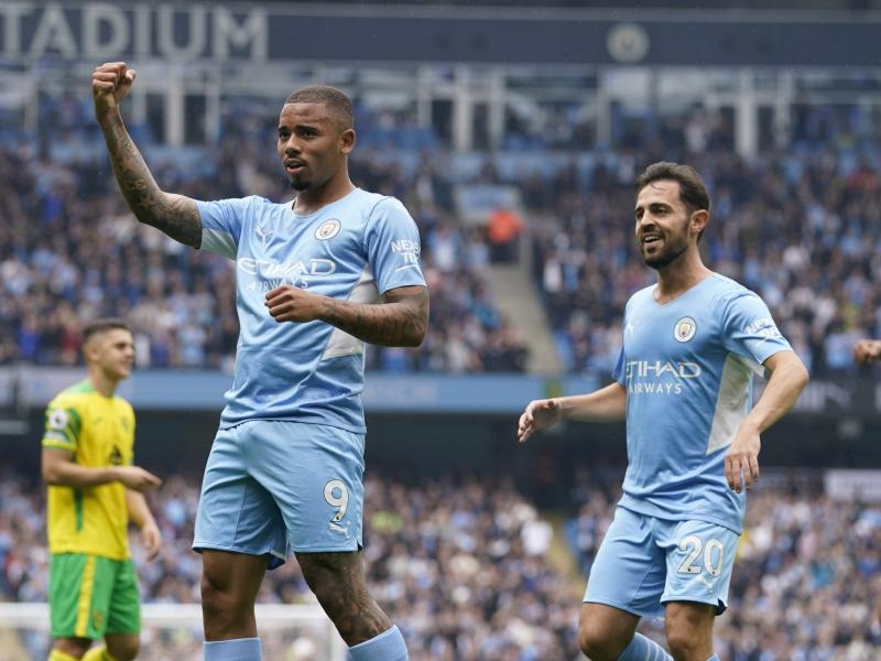 Confirmed: Man City's traveling squad for PSG clash
