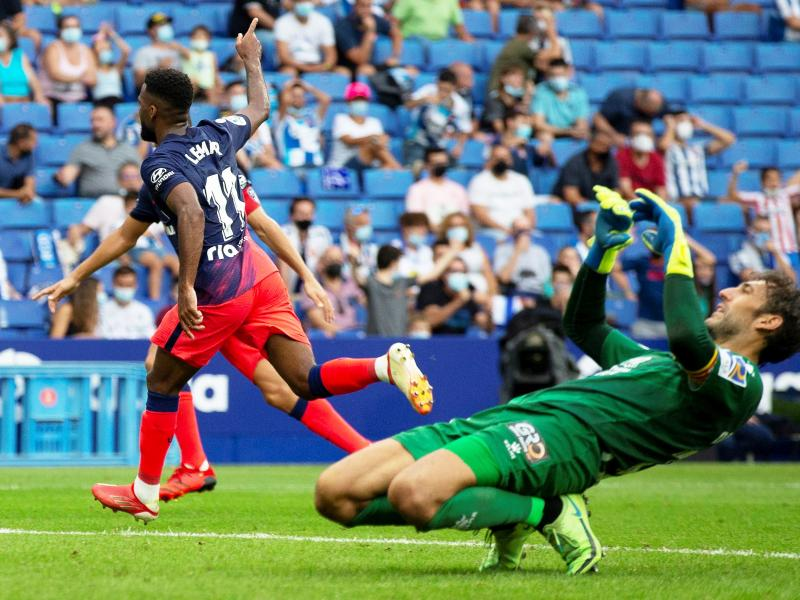 Lemar scores 99th minute winner as Atletico Madrid come from behind to win at Espanyol