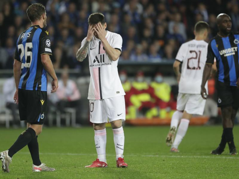 Pochettino admits PSG should be doing better after Brugge draw