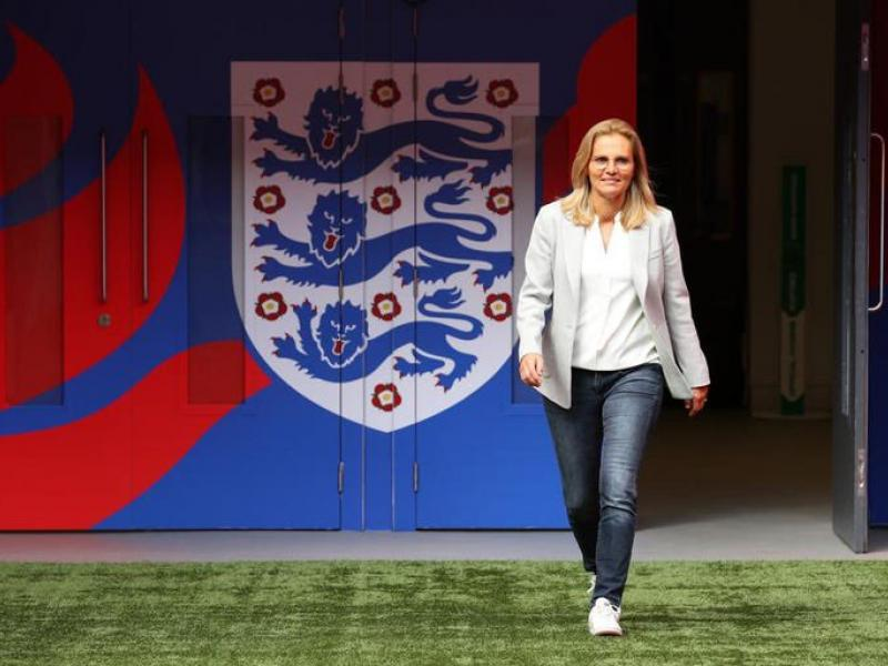 England manager Sarina Wiegman: I had to pretend to be a boy to play football as a child