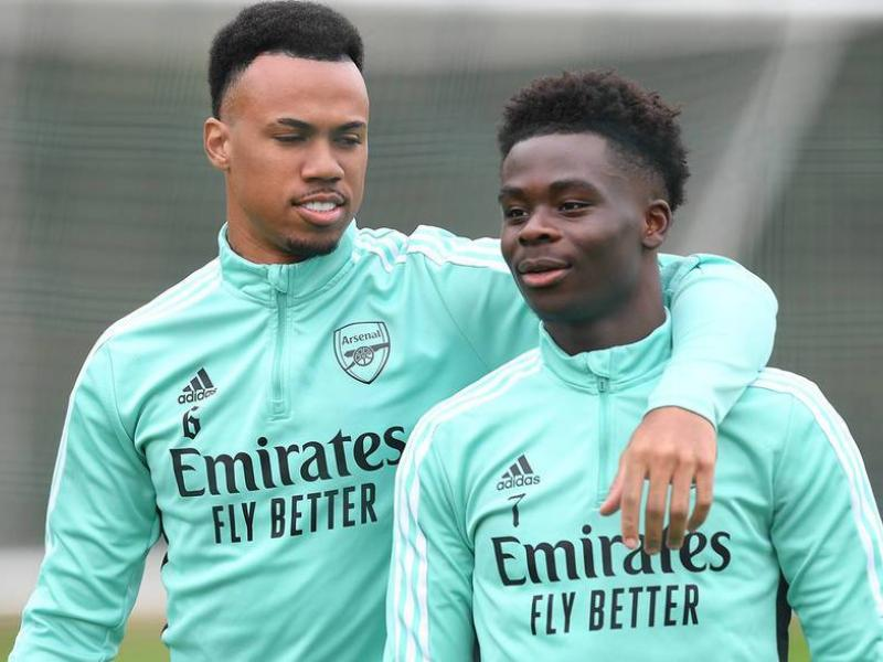 In Pictures: Arsenal train ahead of tomorrow's north London derby