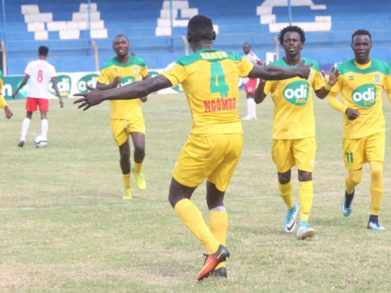 Mathare United defender on scoring first goal for club