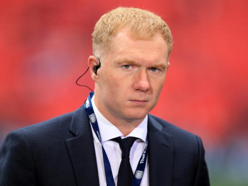 Man United legend Scholes exudes confidence as he takes full-time management