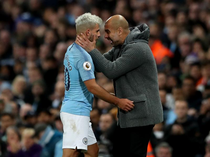 Guardiola marvels at Aguero consistency
