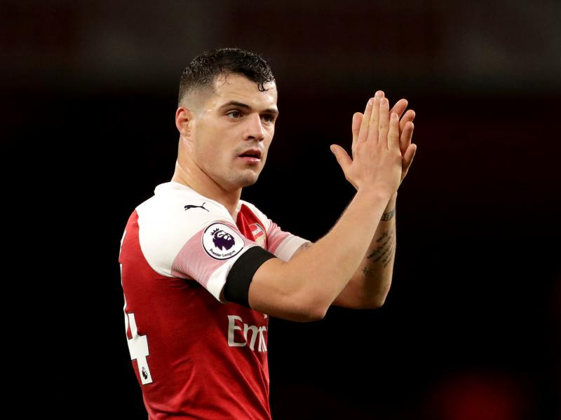 Emery yet to decide on Arsenal captaincy - reveals Xhaka