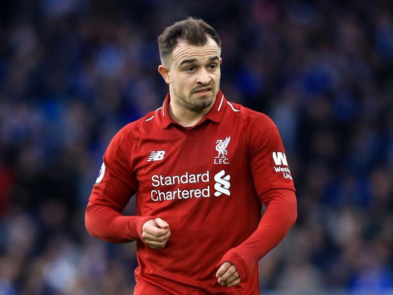 Blow for Liverpool as Shaqiri sustains injury