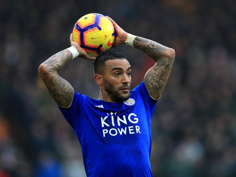 Crystal Palace, Brighton & Hove Albion interested in Leicester City's Danny Simpson
