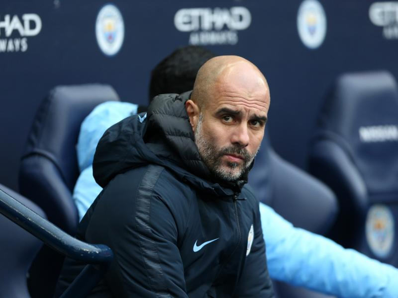 Guardiola confident Man City will play in the Champions League next season