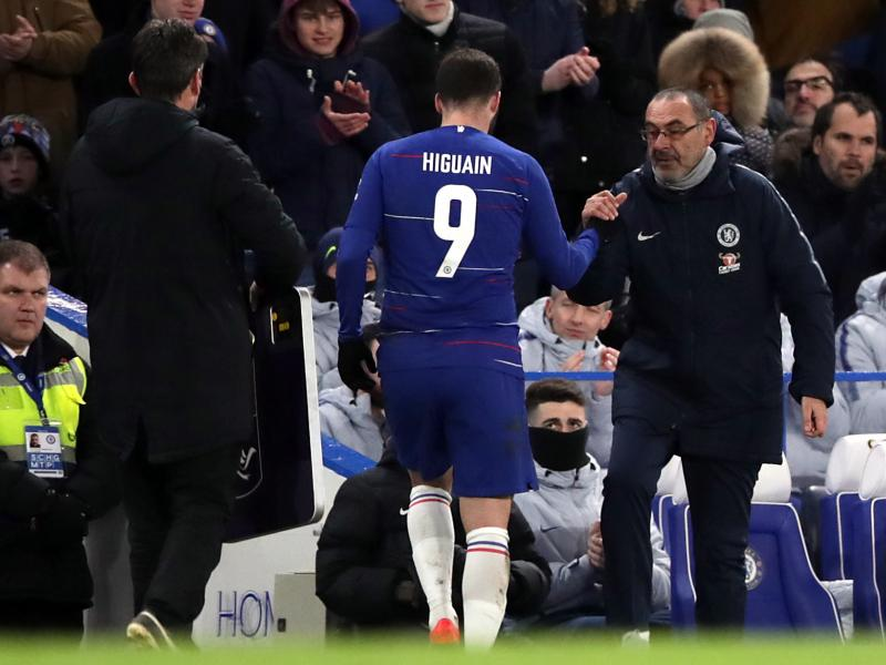 WATCH: Chelsea Higuaín furious after being subbed