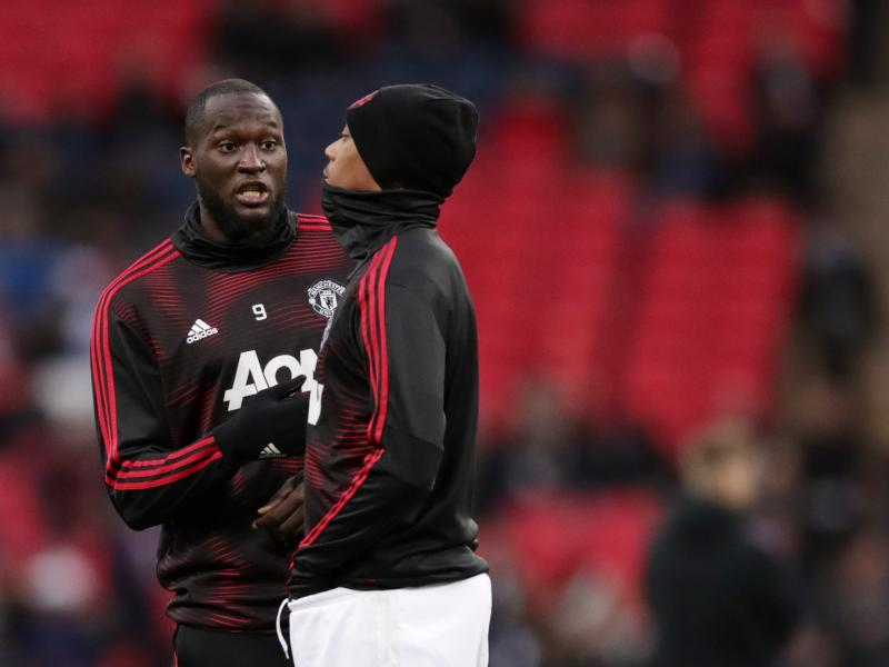 Lukaku, Martial miss Manchester United's training session