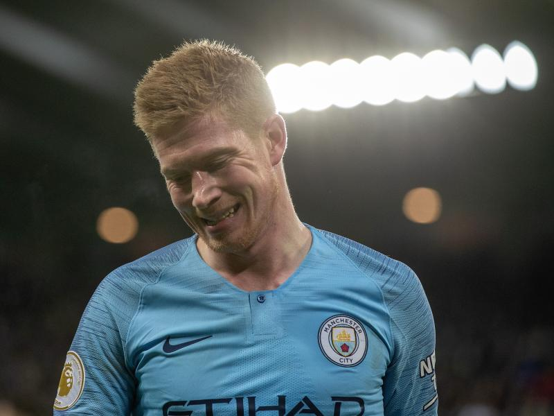 Guardiola provides injury update on Kevin De Bruyne ahead of Manchester derby