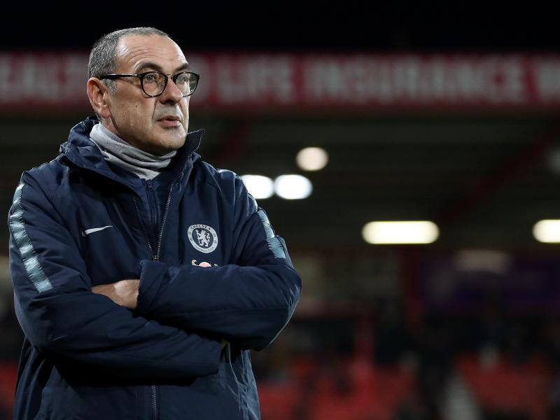 Sarri provides an injury update on duo ahead of Man City clash