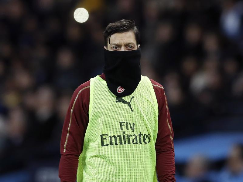 Mesut Ozil among seven Arsenal players on their way out