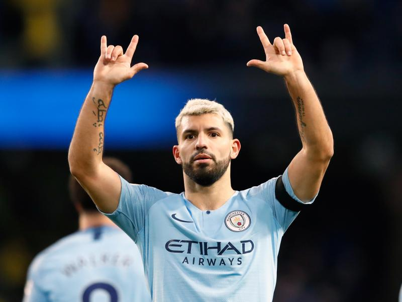 Aguero makes history by reaching three different records with hat-trick over Chelsea