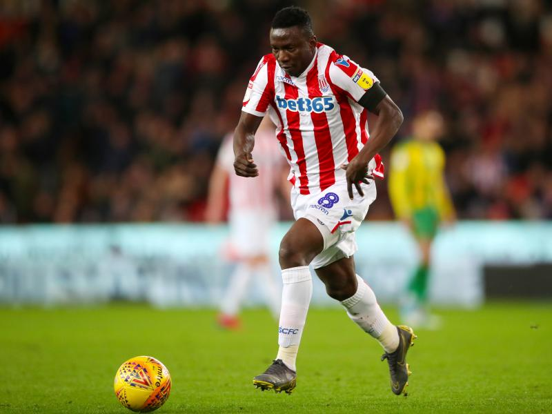 Stoke City manager optimistic Etebo's return will bring good luck