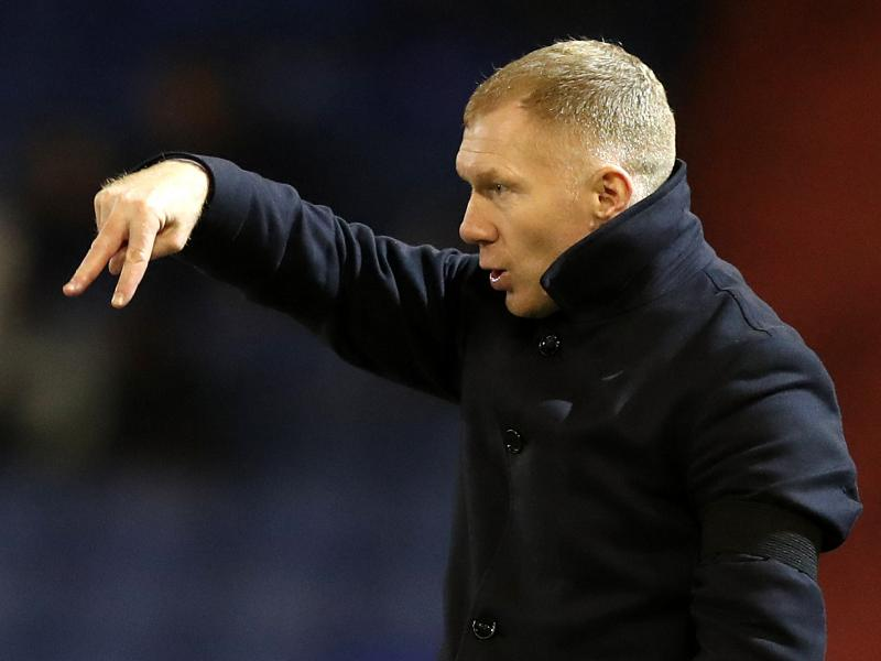 🔴 Man United legend Paul Scholes takes charge of Salford City