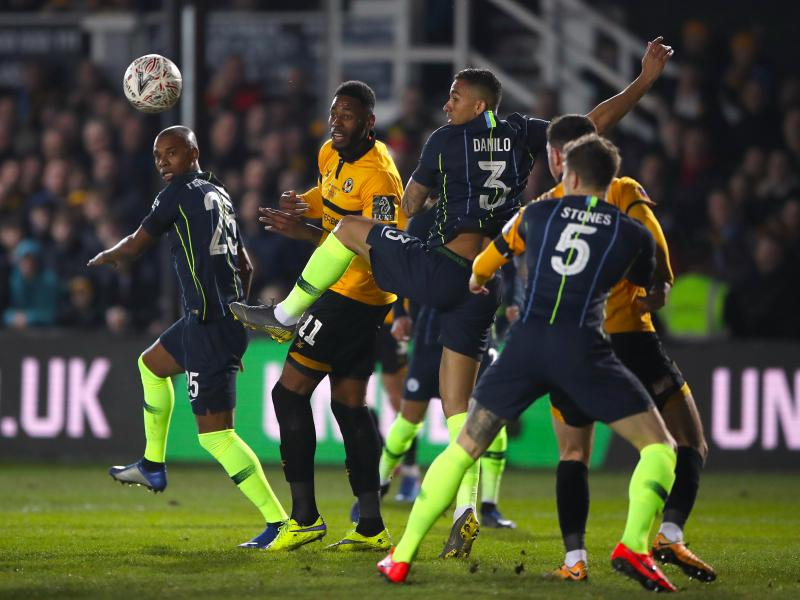 Foden on a brace as City thump Newport County to end their fairy tale run