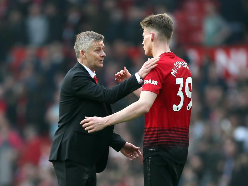Solskjaer lauds five Man United players following Liverpool draw