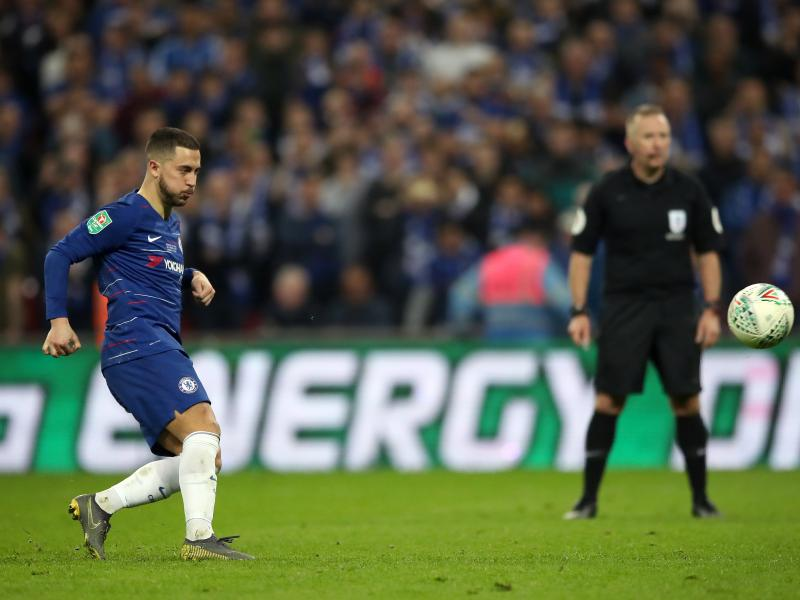 'I'm not working on that right now,' Hazard says on Madrid move