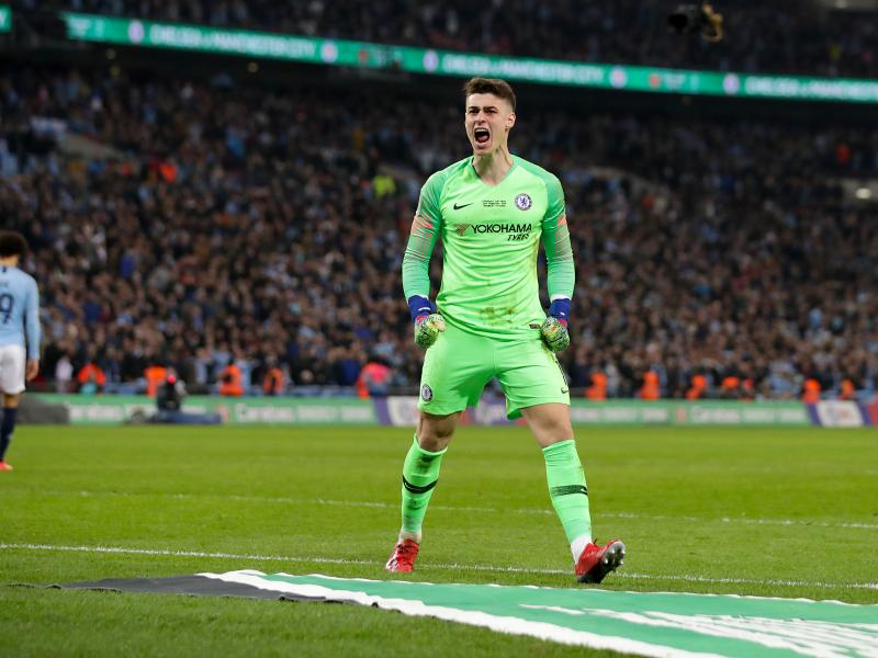 How Chelsea players reacted to Kepa's dropping