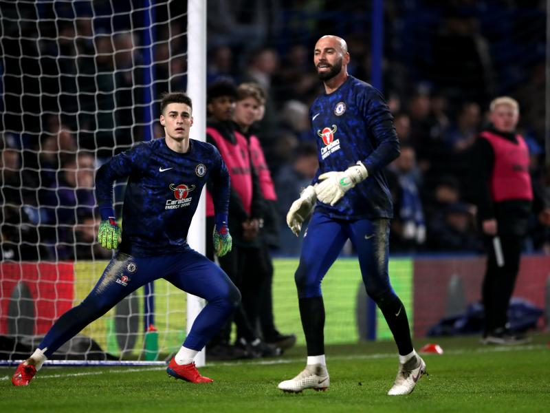 Lampard hints at Kepa Arrizabalaga starting against Manchester United