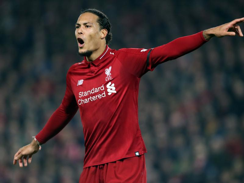 Virgil Van Dijk sends special message to Manchester United ahead of derby clash against City