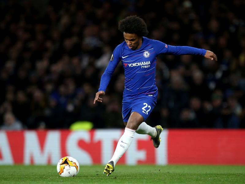 wholesale dealer 3f269 feb2a Willian to wear number 10 jersey at Chelsea next season
