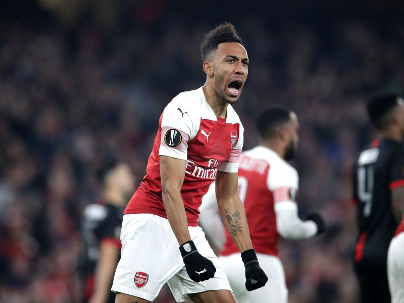 Arsenal comeback against Rennes to progress into Europa League quarters