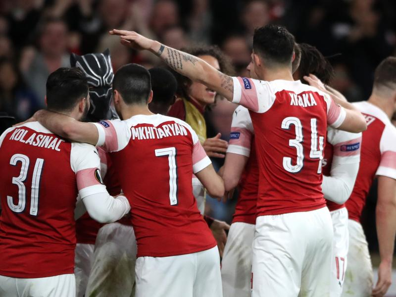 Arsenal's starting line up at Watford: Mavropanos starts