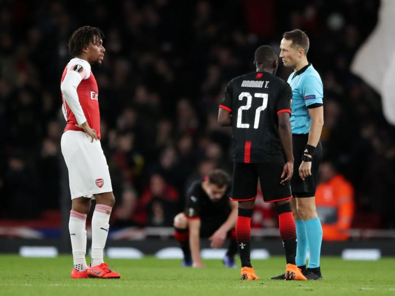 WATCH: Iwobi disgraces Hamari Traore in win over Rennes