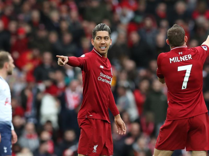 Firmino back in training, Liverpool confirm
