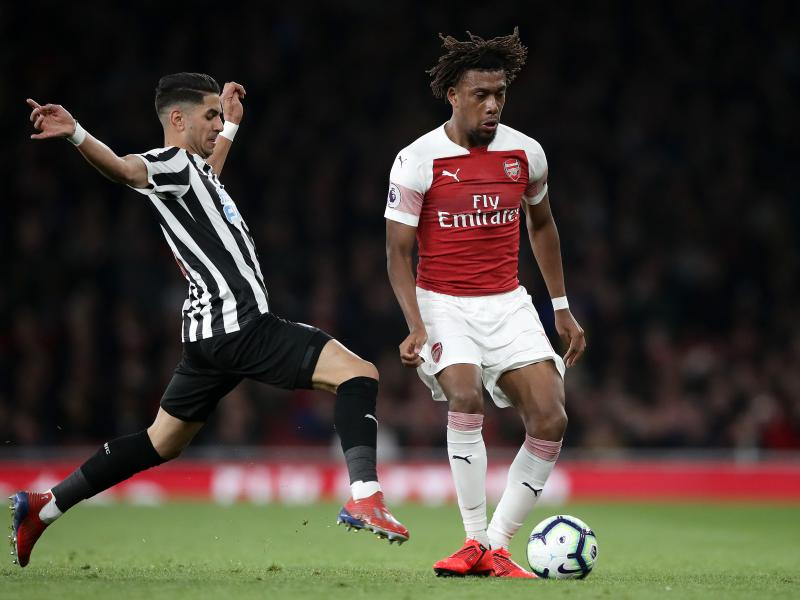 Unai Emery talks on Iwobi's improvement