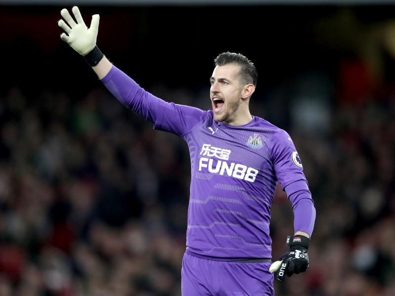 Martin Dubravka could be Kevin Trapp's replacement at Eintracht Frankfurt