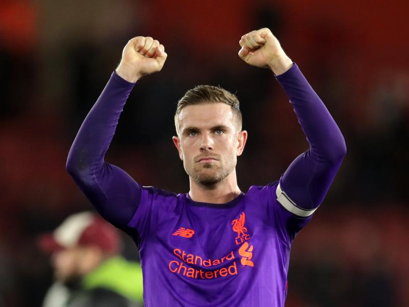 Liverpool captain Henderson ruled out for three weeks