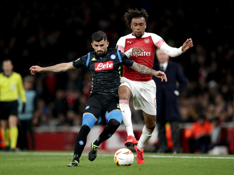 Alex Iwobi among the least paid players at Arsenal