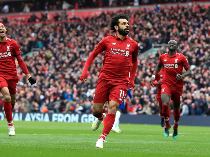 Liverpool slays Chelsea to maintain title charge