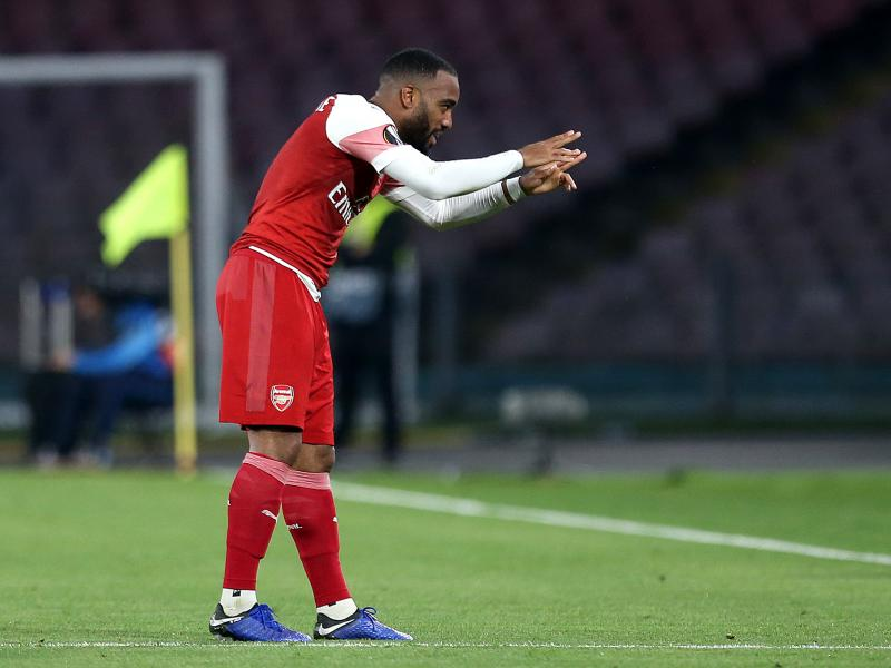 WATCH: Lacazette's stunning free kick against Napoli