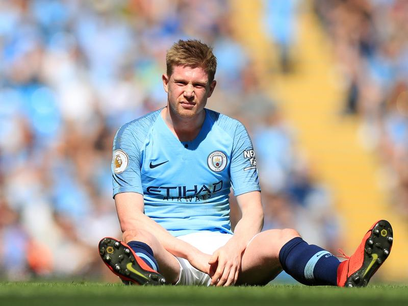 Kevin De Bruyne could be fit for the Carabao Cup final