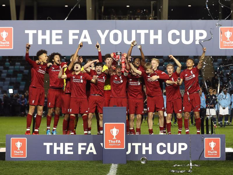 Liverpool beat Manchester City in FA Youth Cup final