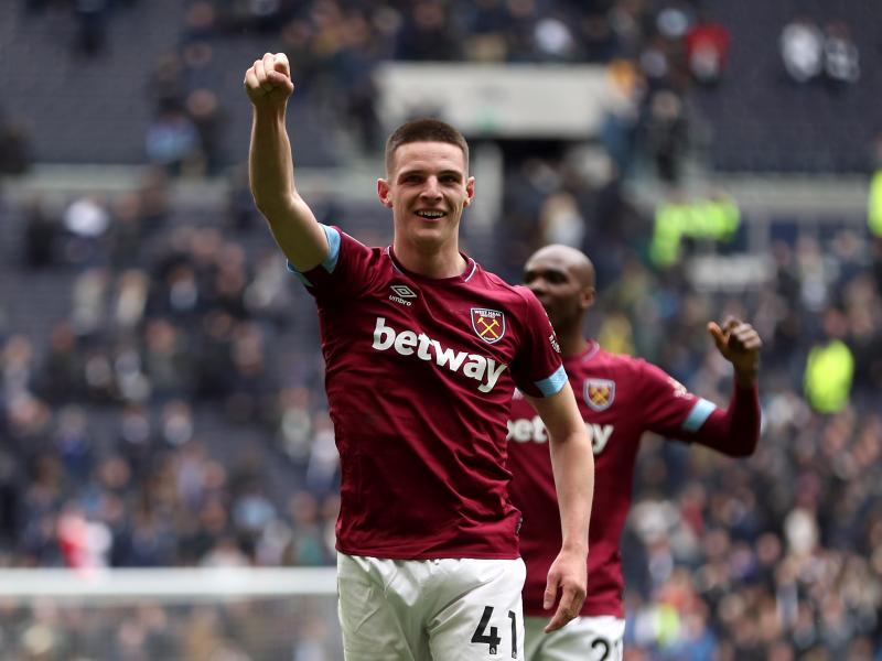 Manchester United target Declan Rice drops major hint about his future