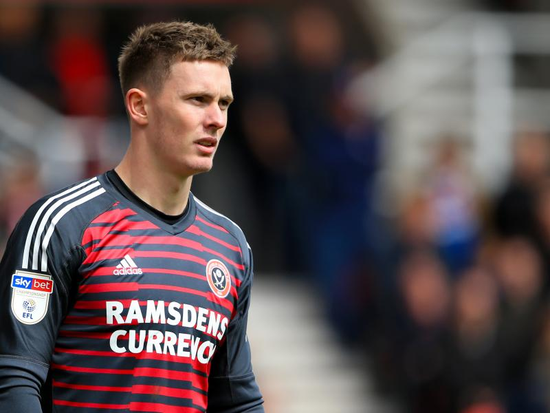 Sheffield United want to keep Man United's Dean Henderson