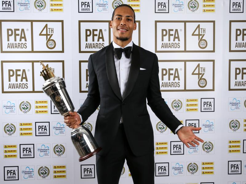 Van Dijk named Premier League Player of the Season
