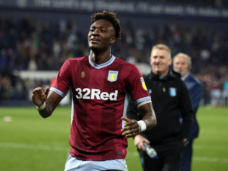 Aston Villa face stiff competition with RB Leipzig to sign Abraham