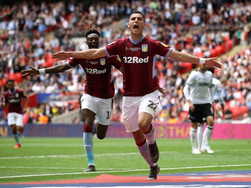 Aston Villa make emphatic Premier League return with narrow win over Derby County