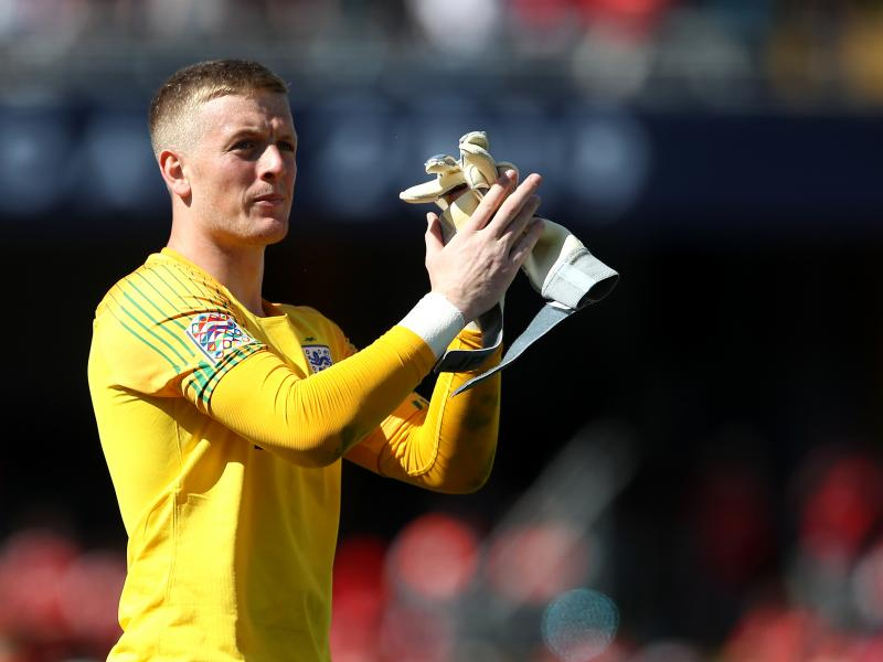 Jordan Pickford named in Nations League Team of the Tournament