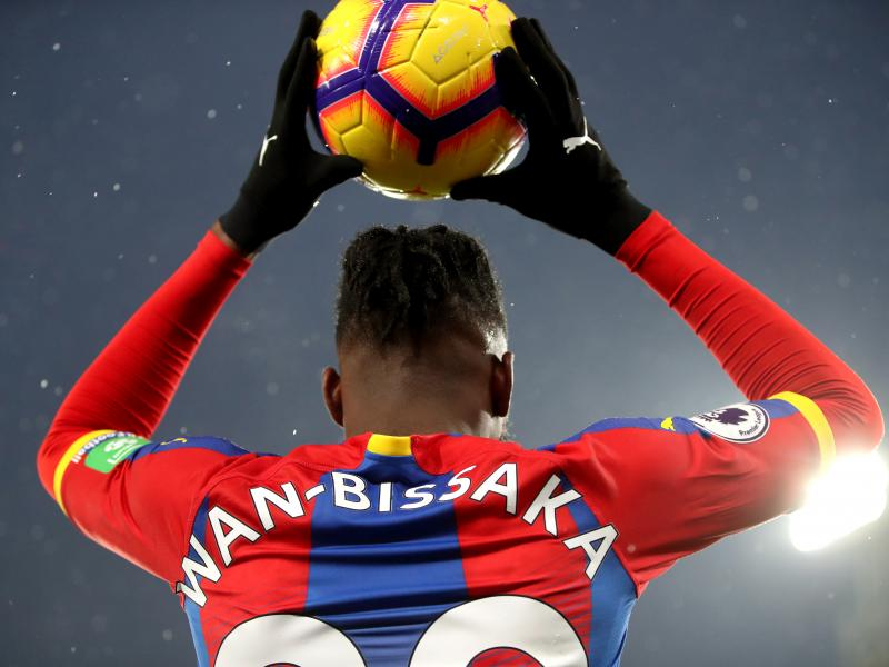 Wilfried Zaha glad Aaron Wan-Bissaka is being recognized at global stage