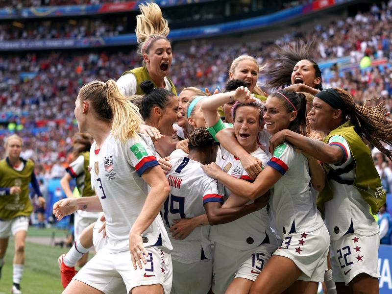 USA beat Netherlands to win Women's World Cup for record fourth time