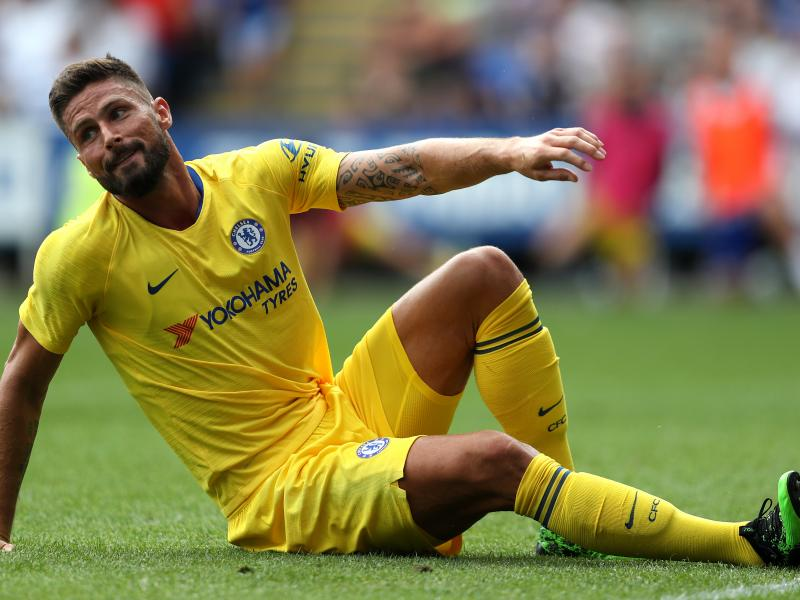 Oliver Giroud throws his Chelsea future in doubt